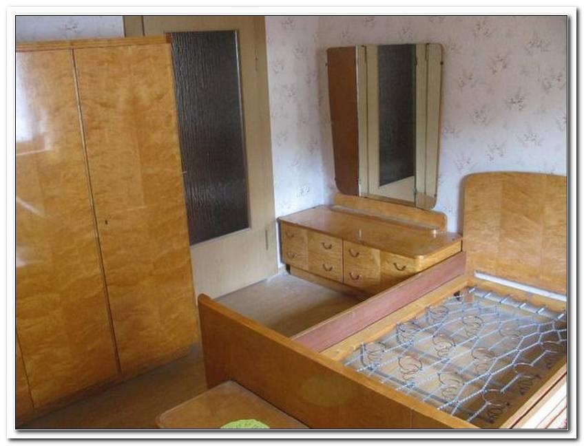 Schlafzimmer Um 1950