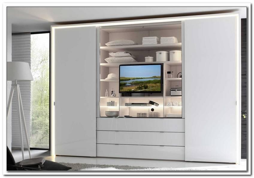 Schlafzimmerschrank Mit Fernsehfach