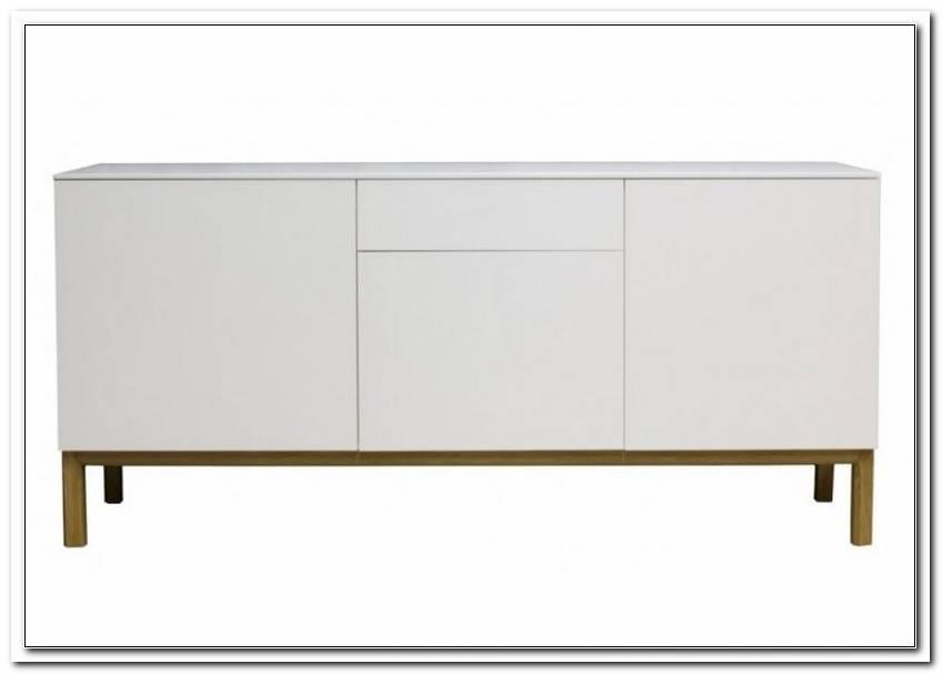 Schmales Sideboard Hinter Sofa