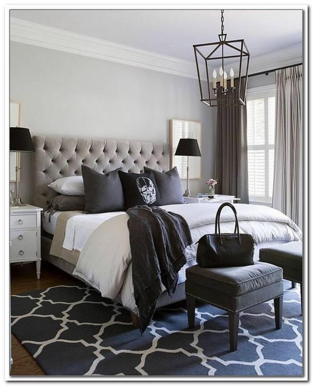 Schwarz Weiss Grau Schlafzimmer