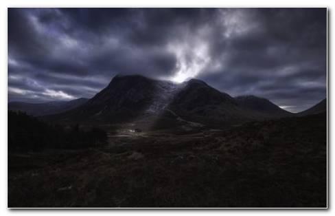 Scotland mountains HD wallpaper