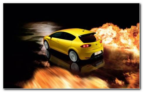 Seat Leon Cupra R 2011 HD Wallpaper