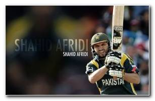 Shahid Afridi HD Wallpaper