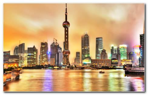 Shanghai HD wallpaper