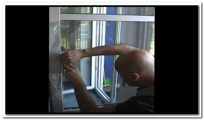Sicherheitsfolie F?R Fensterscheiben