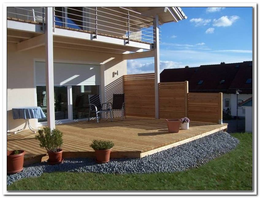 Sicht Und Windschutz F?R Terrassen
