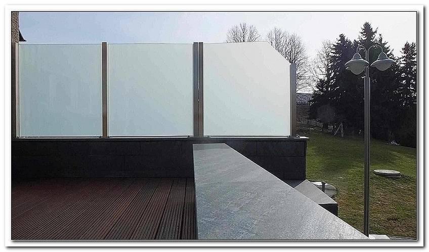 Sichtblenden Garten Glas