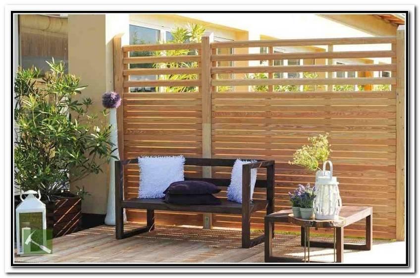 Sichtschutz Aus Holz F?R Terrasse