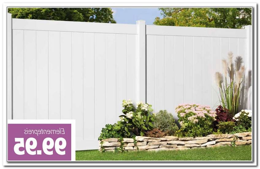 Sichtschutz Garten Kunststoff Wei?