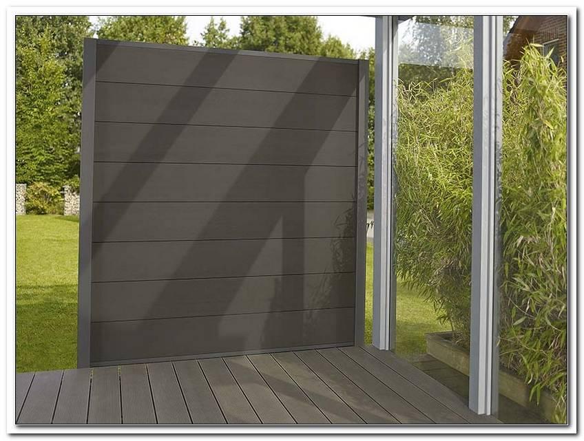 Sichtschutz Garten Kunststoff Wpc