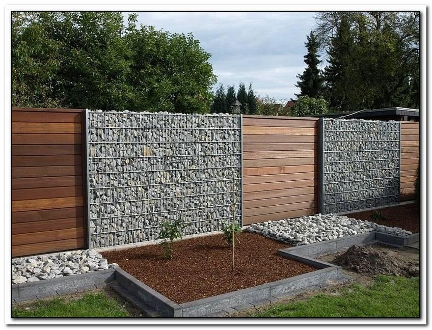 Sichtschutz Garten SteinkRbe