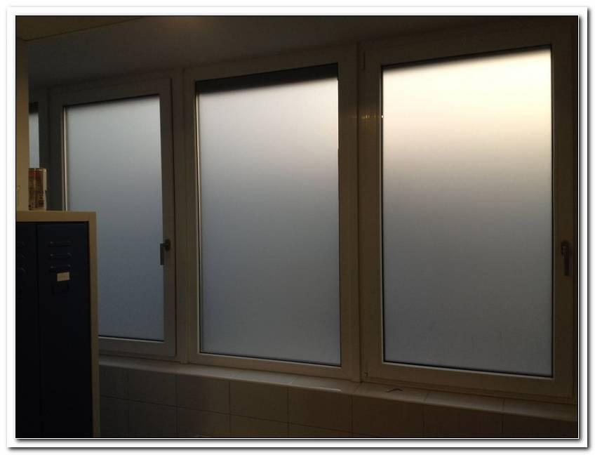 Sichtschutzfolie Fenster Einseitig Durchsichtig