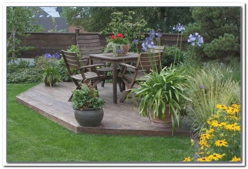 Sitzplatz Garten Anlegen