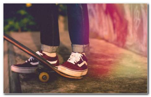 Skateboard Legs HD Wallpaper