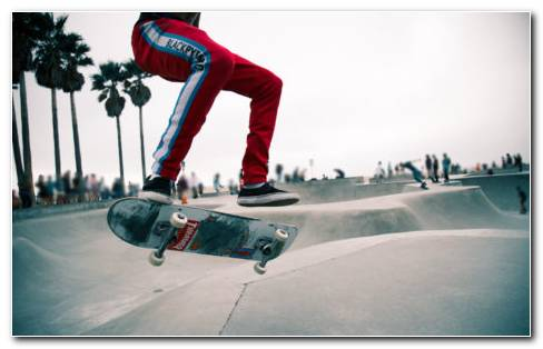 Skateboard Moves HD Wallpaper