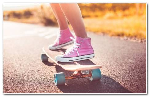 Skateboard Sneakers HD Wallpaper