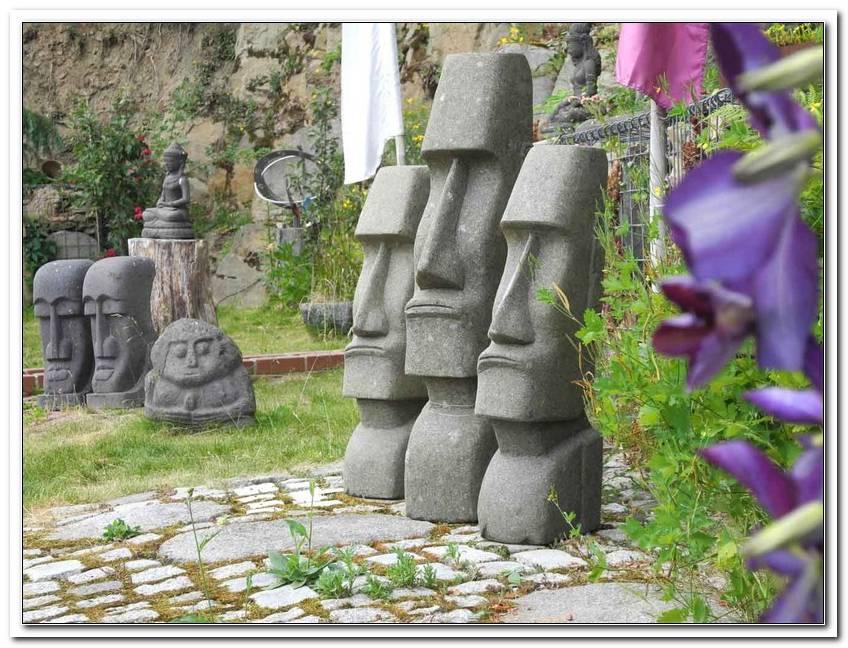 Skulpturen Garten Modern