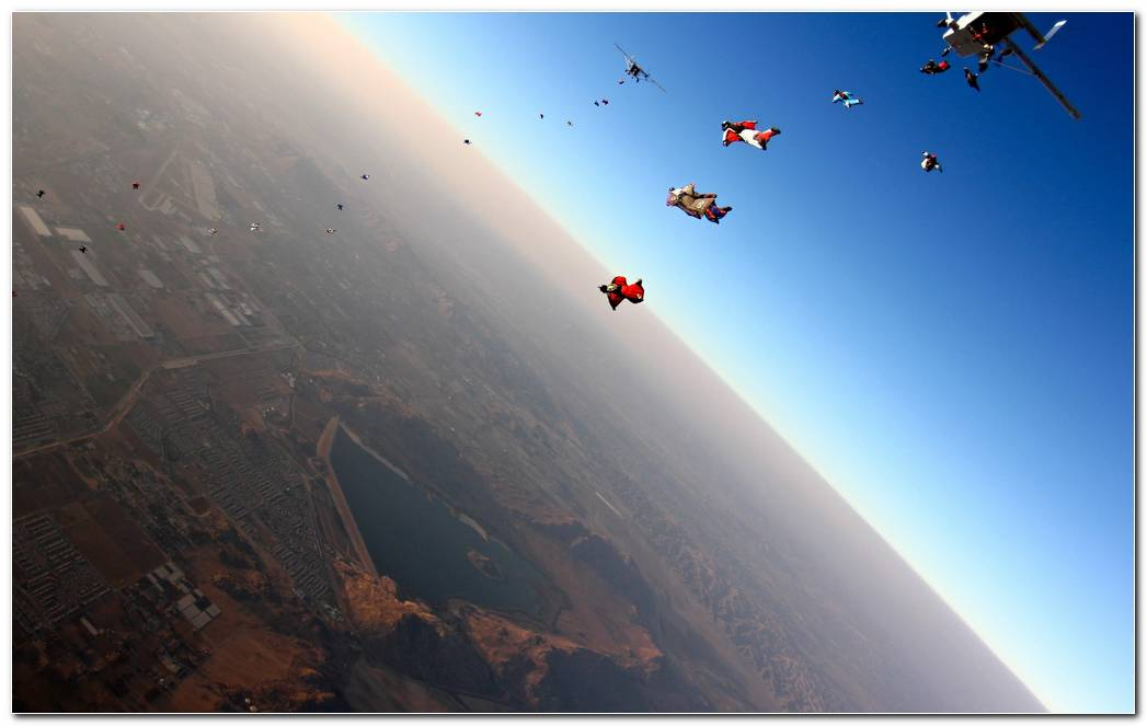 Skydiving Backgrounds
