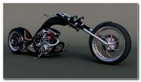 Slim Chopper Bikes HD wallpaper