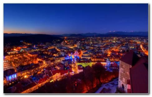 Slovenia architecture HD wallpaper