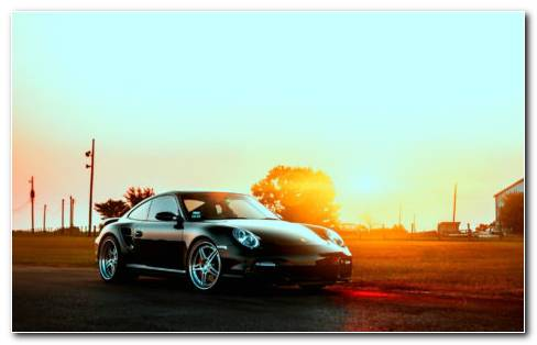 Small Porsche HD Wallpaper