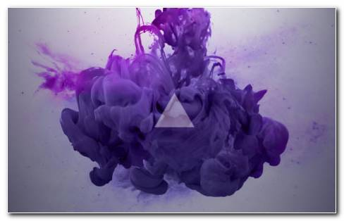 Smoke Triangle HD Wallpaper