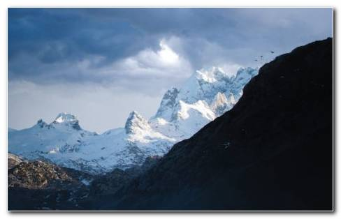 Snow Mountains Of Spain