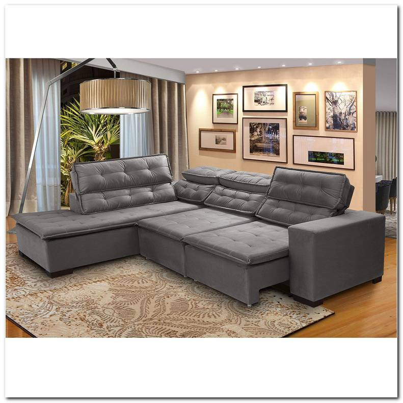 Sofa 5 Lugares Canto