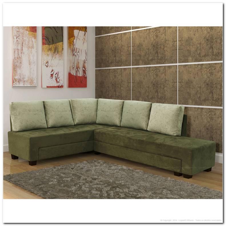 Sofa 6 Lugares De Canto