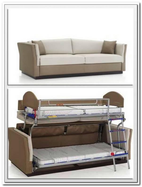 Sofa Cama Que Se Convierte En Litera