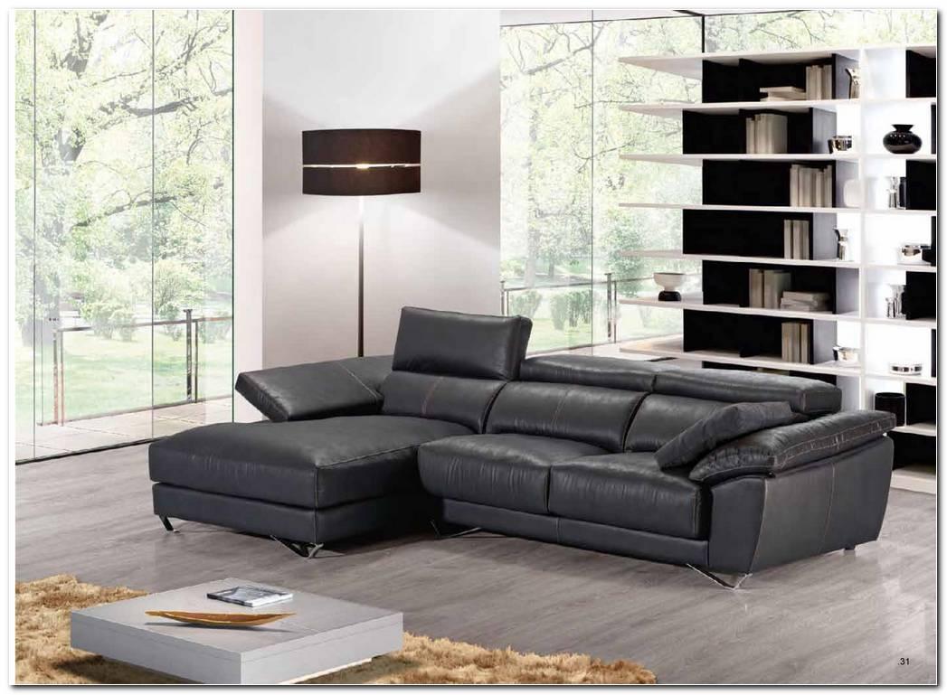 Sofa Cheslong Piel