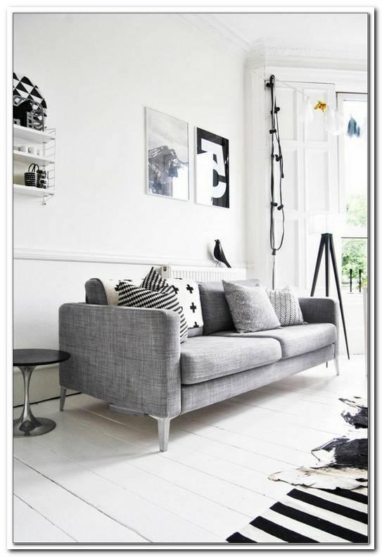 Sofa Grau Skandinavisch