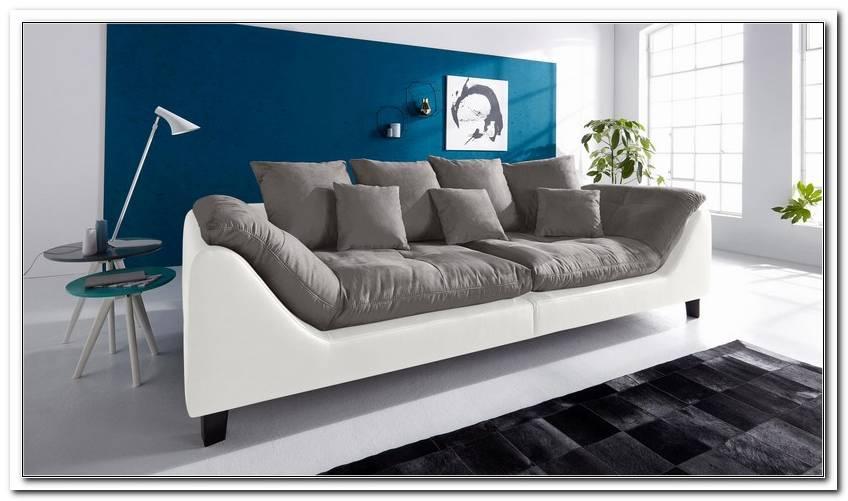 Sofa Grau Wei?