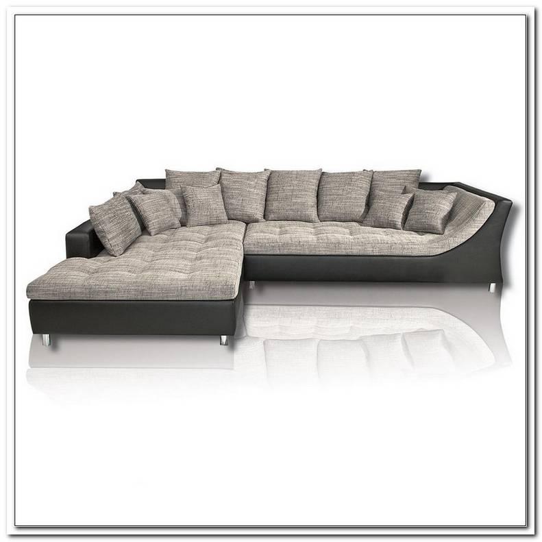 Sofa Grau Weis Roller
