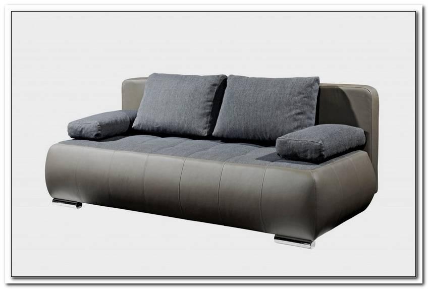 Sofa Microfaser Lederoptik