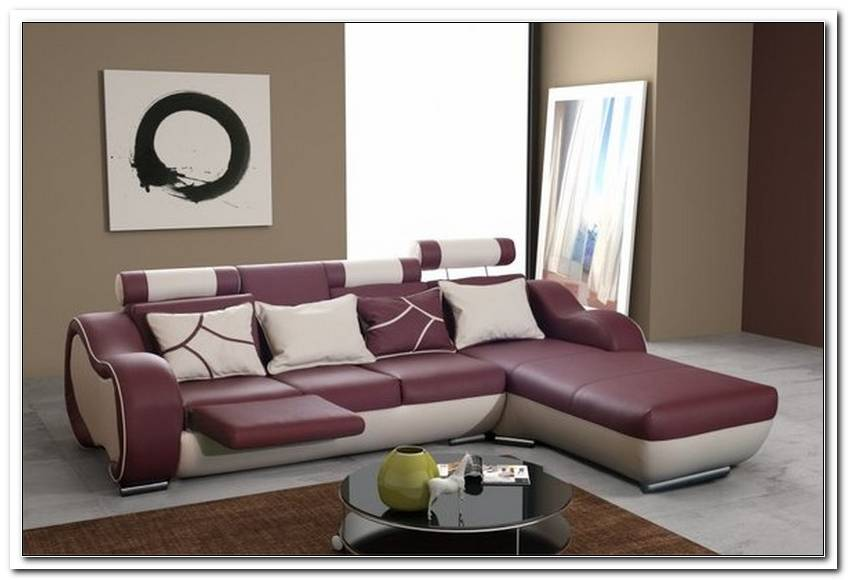 Sofa Mit Ausfahrbarer Fu?St?Tze