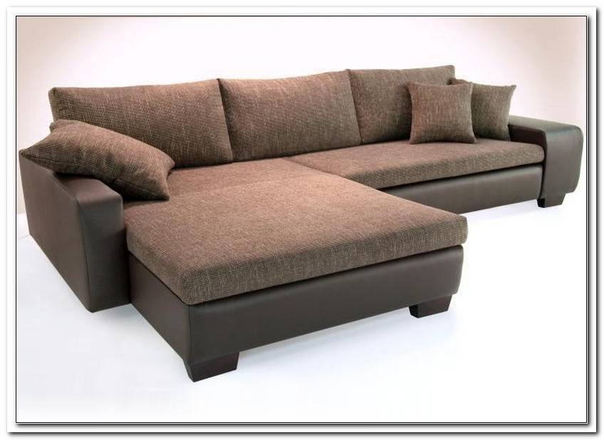 Sofa Mit Bettfunktion Braun