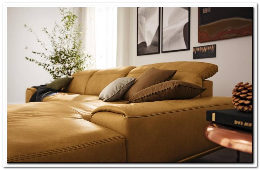 Sofa Mit Breitem Longchair