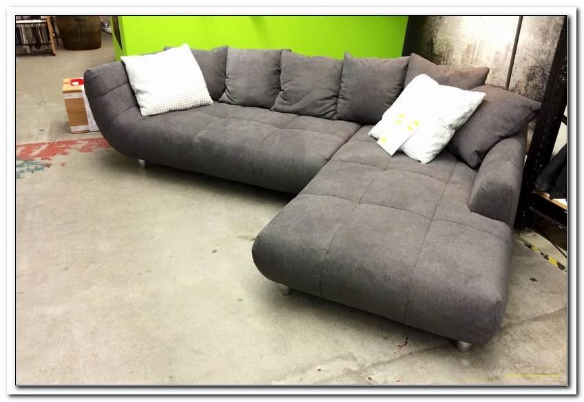 Sofa Mit Breiter Recamiere