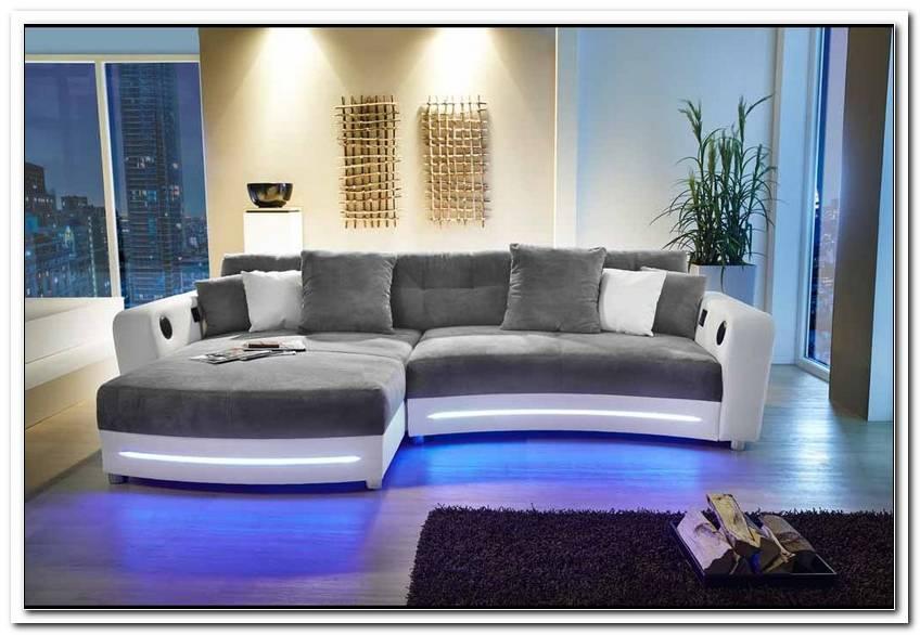 Sofa Mit Led Beleuchtung Und Sound Poco