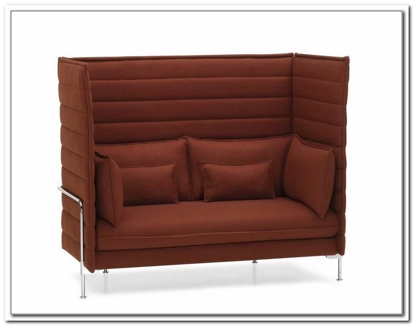 Sofa Mit Sehr Hoher R?Ckenlehne