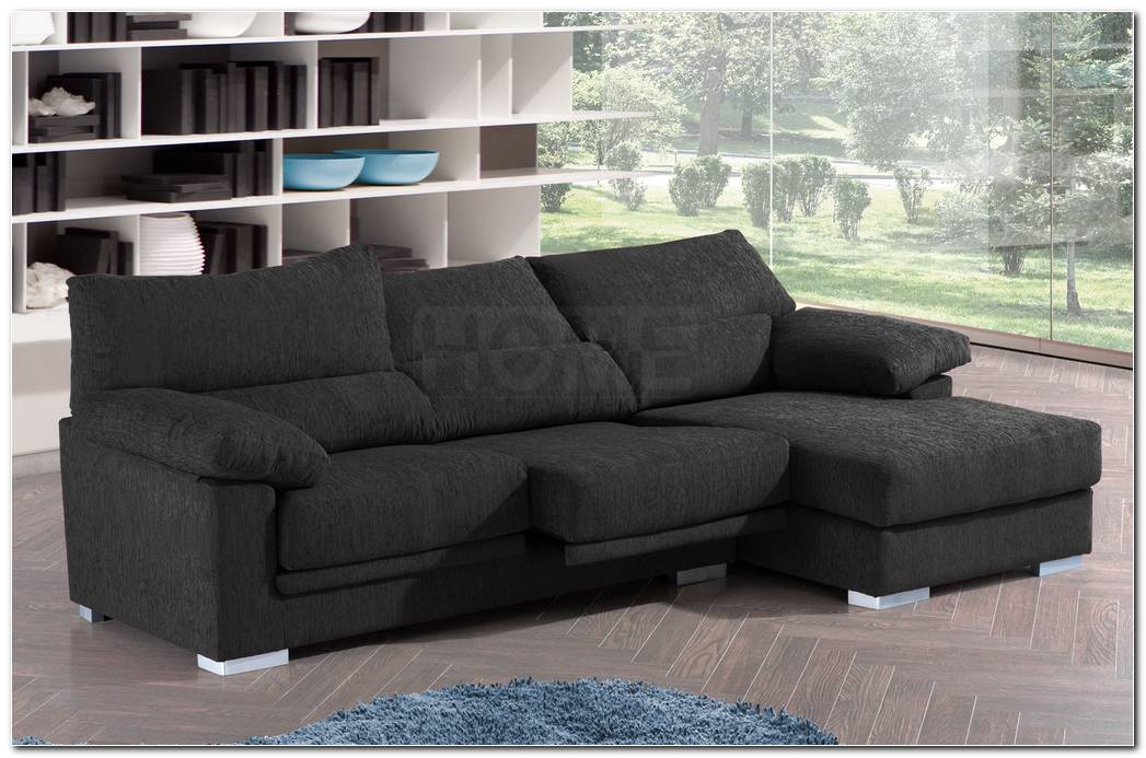 Sofa Tres Plazas Chaise Longue