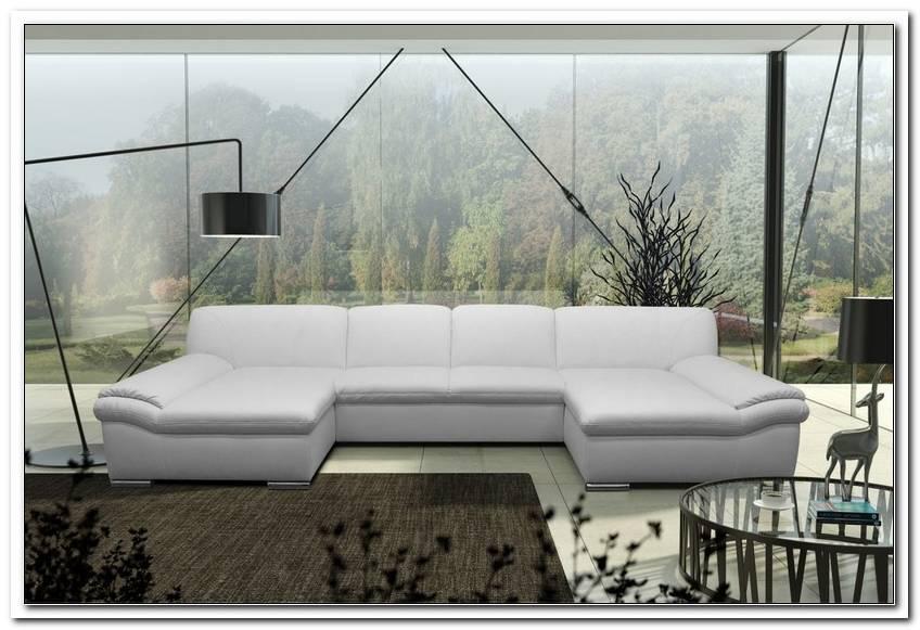 Sofa U Form Kunstleder