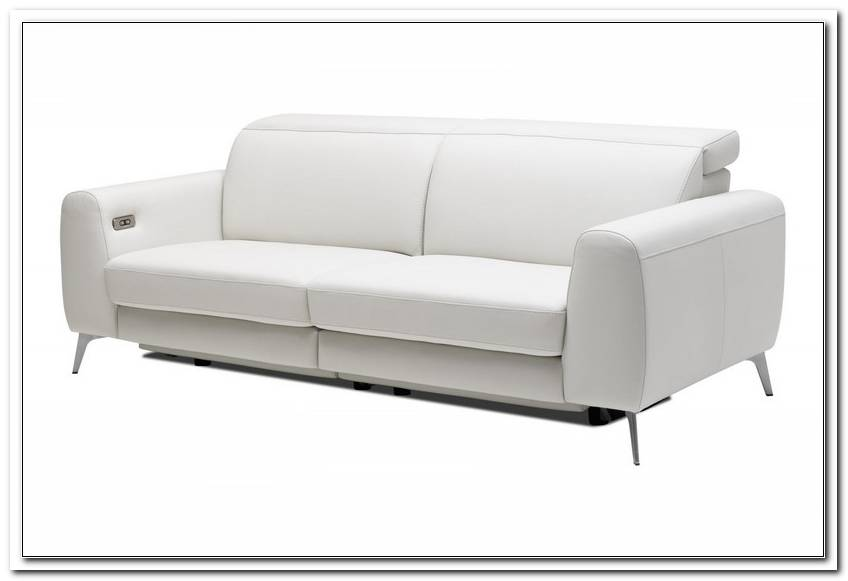Sofa With Electric Seat Adjustment
