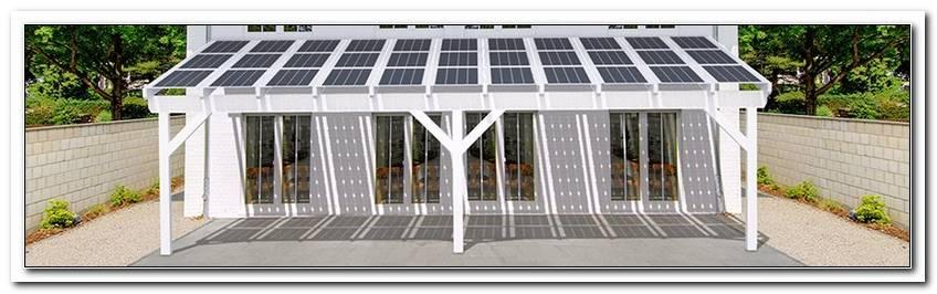 Solar Terrassen?Berdachung