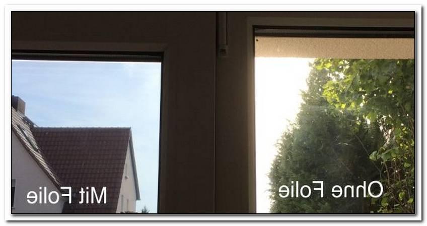 Sonnenreflektierende Folie Fenster