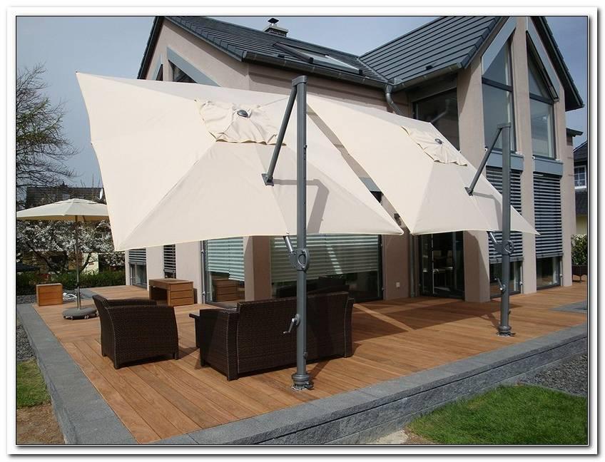 Sonnenschirm F?R Windige Terrasse