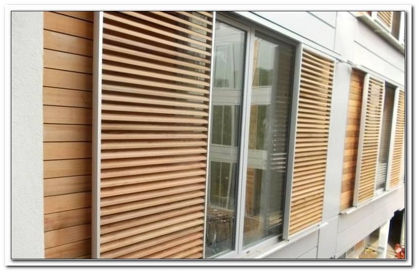 Sonnenschutz Fenster Au?En Holz