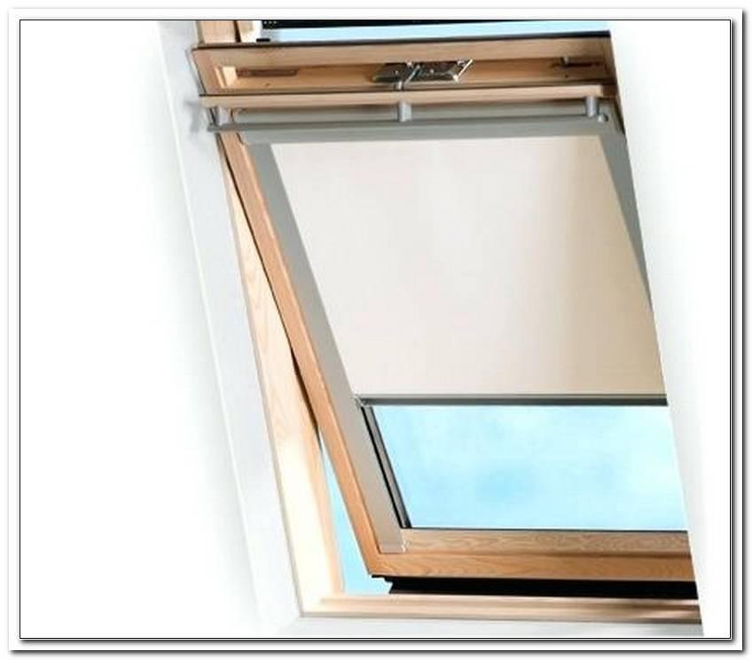 Sonnenschutz Rollo Velux Fenster