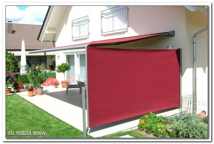 Sonnenschutz Terrasse Seitlich